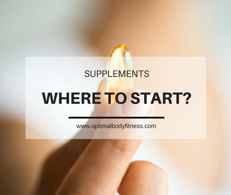 Supplements, Where to Begin!