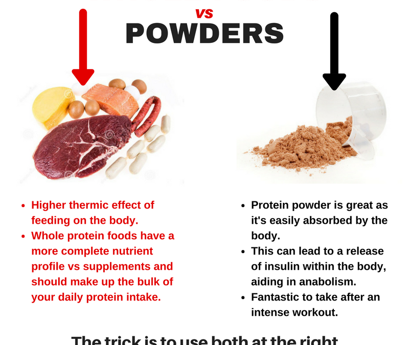 How do you get MOST of your PROTEIN?