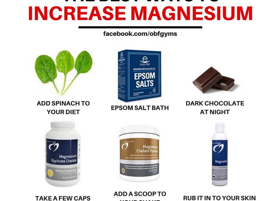 Magnesium, Are You Using It As A Sleep Supplement?